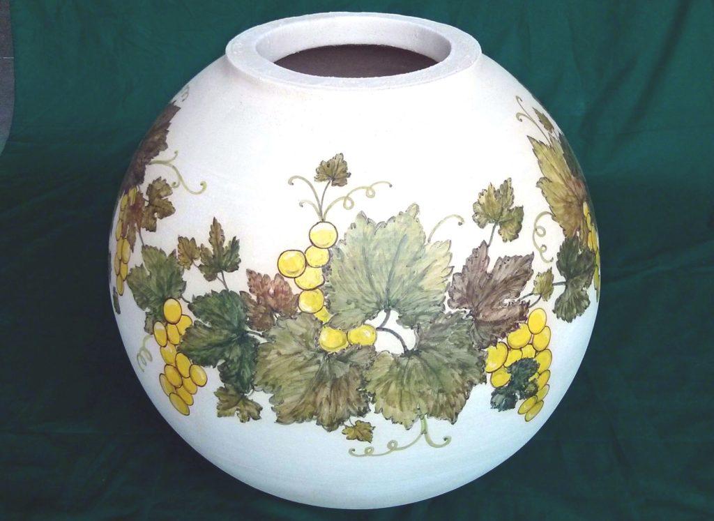 botte Clayver in ceramica decorata