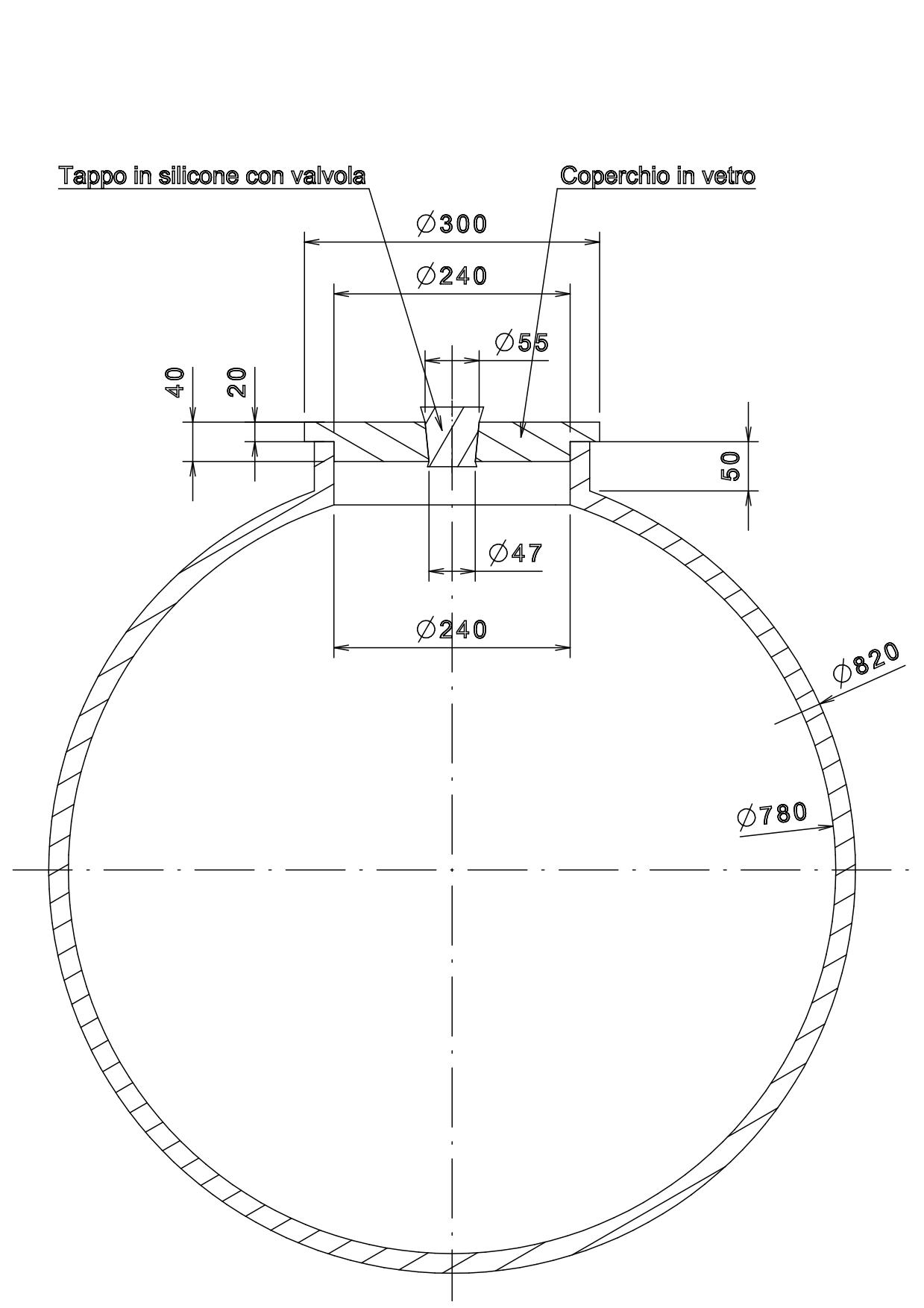 disegno del primo progetto di Clayver